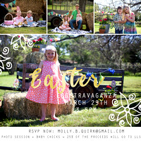 March News + EGGStravaganza + Wildflower Minis